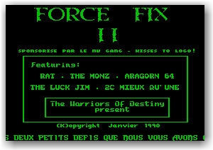 Force Fixe 2 - Intro