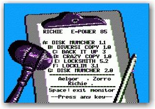 Elemental Power Copy Disk