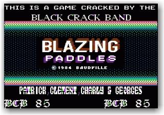 Blazing Paddles - BCB
