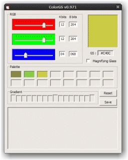 ColorGS (Palette)