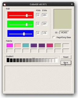ColorGS (sauvegarde)